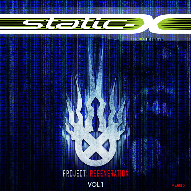 Cover art for album Project Regeneration, Vol. 1 by Static-X