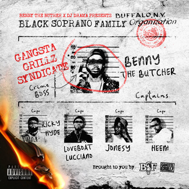 Benny the Butcher & DJ Drama Presents Black Soprano Family (With Commentary)