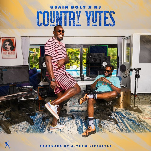 Cover art for album COUNTRY YUTES by Usain Bolt, nj