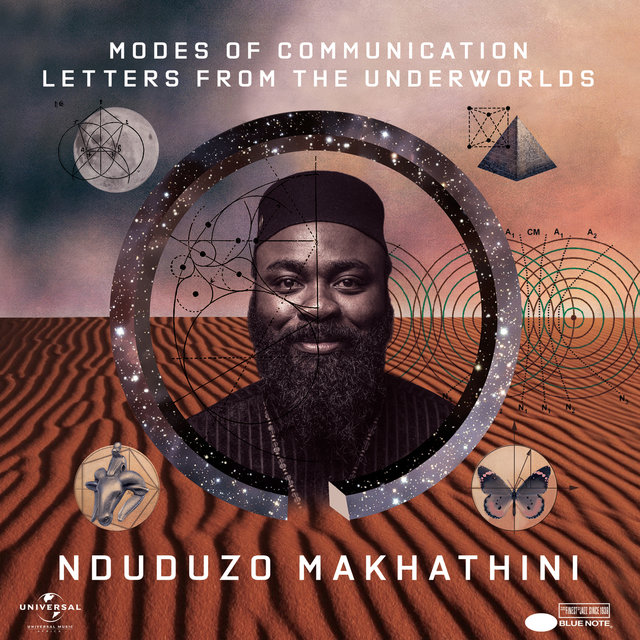 Cover art for album Modes Of Communication: Letters From The Underworlds by Nduduzo Makhathini