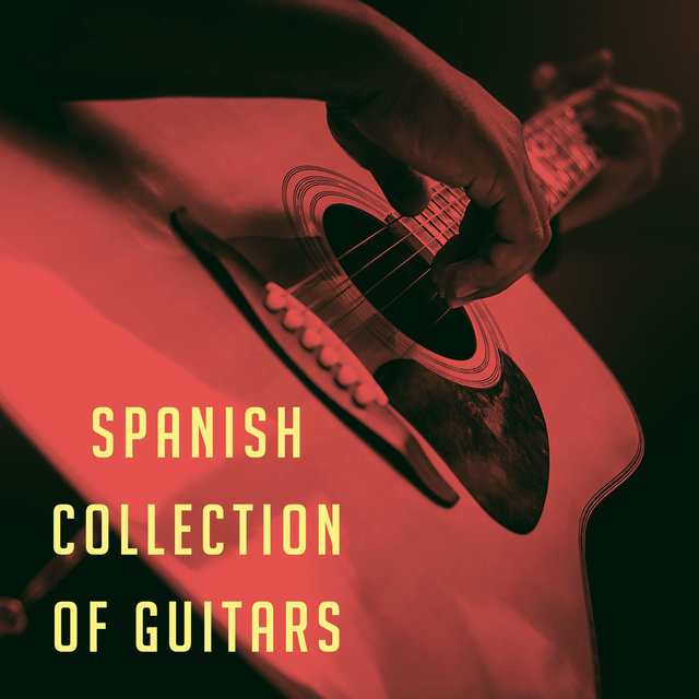 Spanish collection of guitars