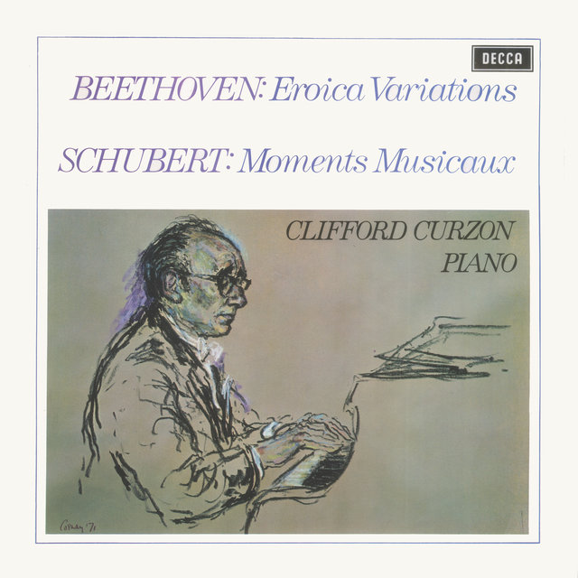 Beethoven: Eroica Variations / Schubert: Moments Musicaux / Britten: Introduction & Rondo alla burlesca; Mazurka elegiaca