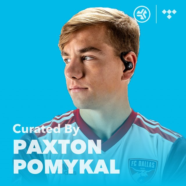 Cover art for album MLS Paxton Pomykal Player Playlist by JLab Audio