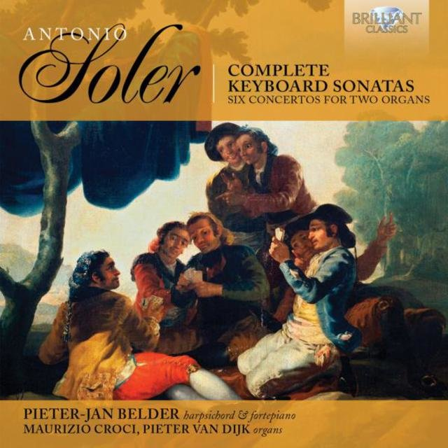Soler Complete Keyboard Sonatas & Six Concertos for Two Organs