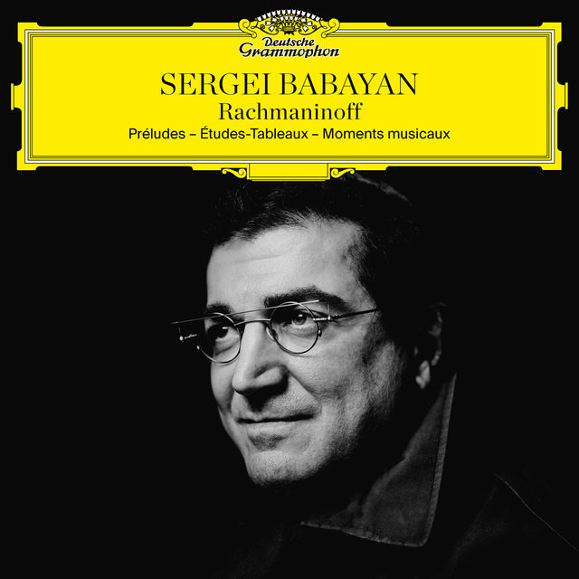 Cover art for album Rachmaninoff: Préludes; Études-Tableaux; Moments musicaux by Sergei Babayan