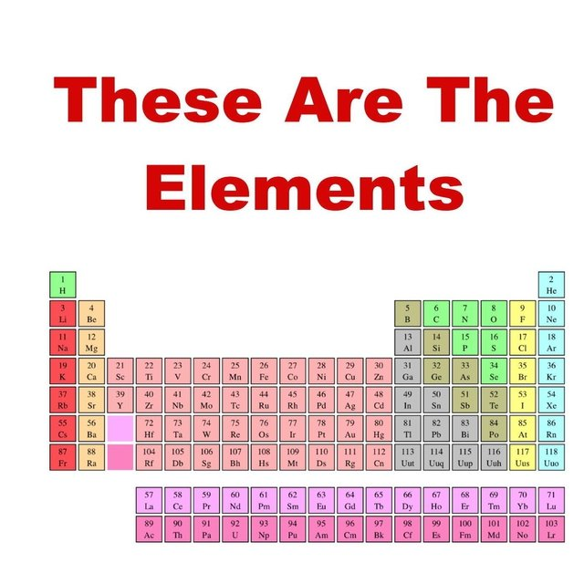 These Are the Elements