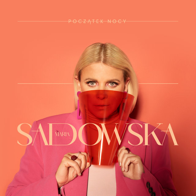 Cover art for album Początek nocy by Maria Sadowska