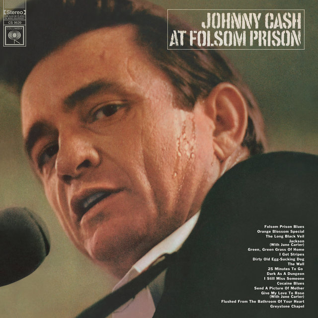 Cover art for album At Folsom Prison by Johnny Cash