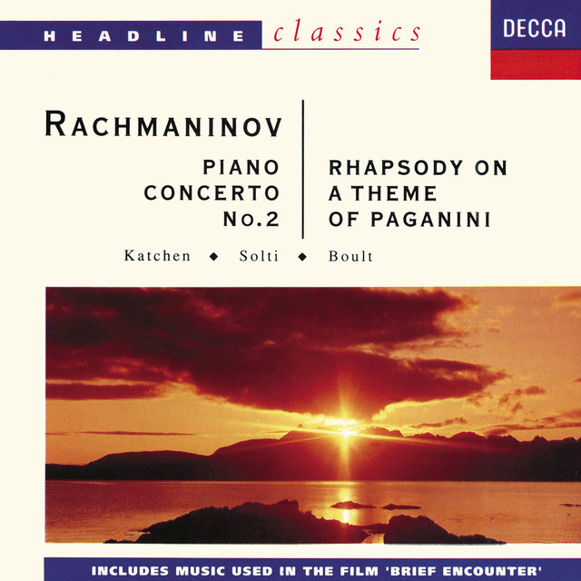 Piano Concerto No.2 In C Minor Opus 18 - S. Rachmaninov