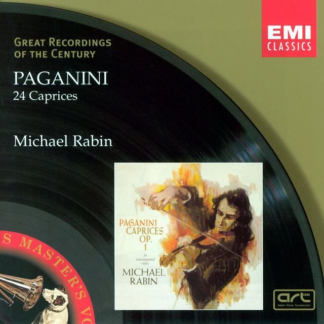 Paganini: 24 Caprices For Solo Violin