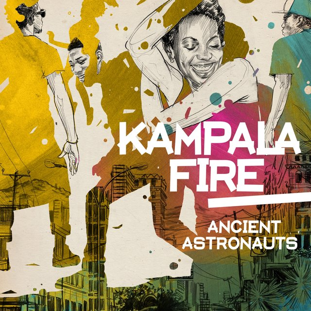 Cover art for album Kampala Fire by Ancient Astronauts