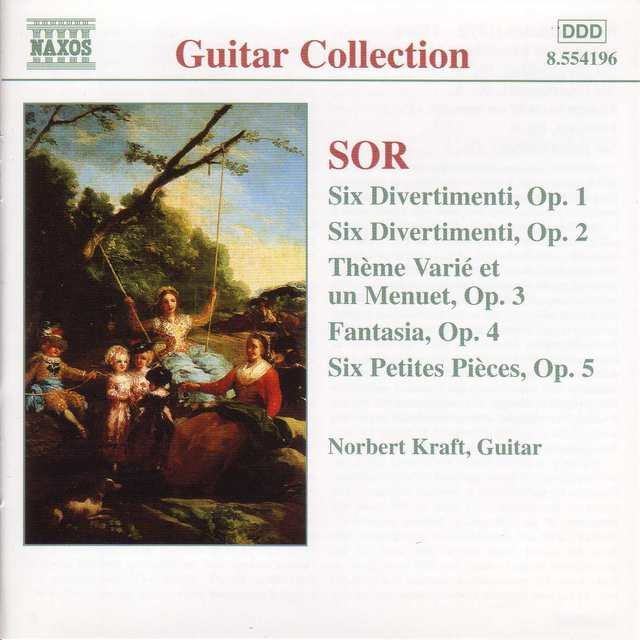 Sor: 6 Divertimenti, Opp. 1 and 2 / 6 Petite Pieces, Op. 5