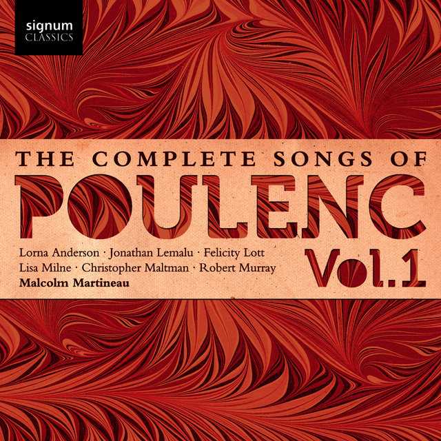 The Complete Songs of Poulenc: Vol.1