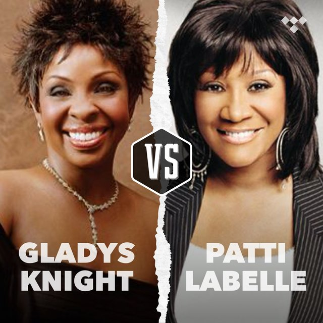 Cover art for album Gladys Knight vs Patti LaBelle by TIDAL