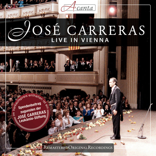 Jose Carreras Live in Vienna