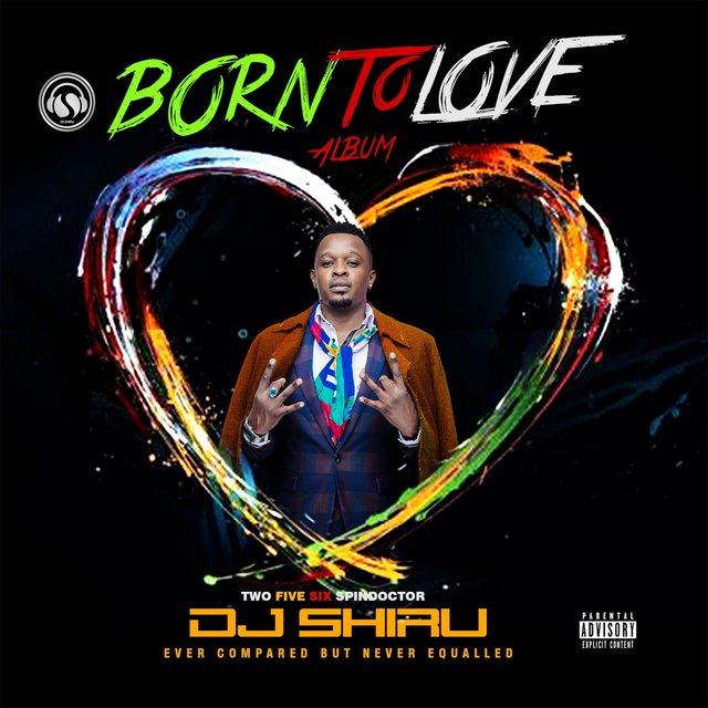 Cover art for album Born to Love by Dj Shiru