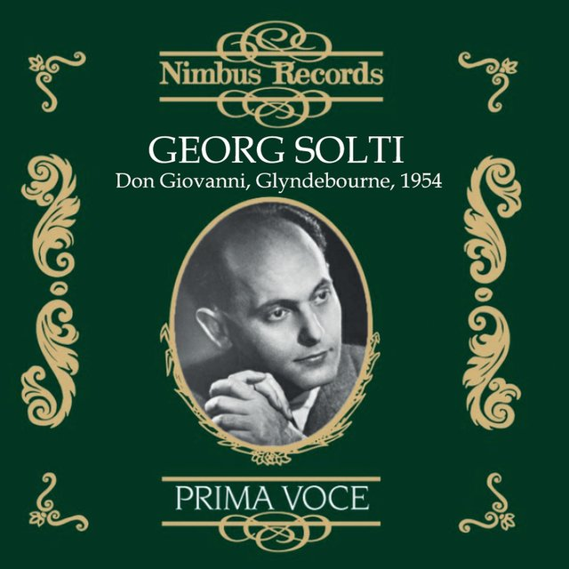 Georg Solti: Don Giovanni, Glyndebourne, 1954