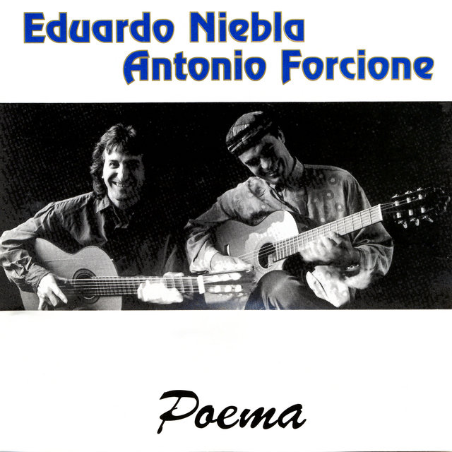 Cover art for album Poema by Eduardo Niebla & Antonio Forcione