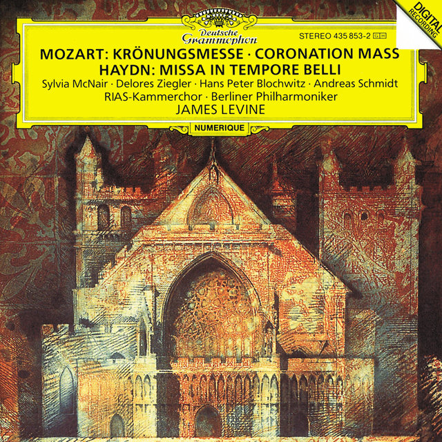 "Mozart: Mass in C K317 ""Coronation Mass"" / Haydn: Missa in tempore belli"
