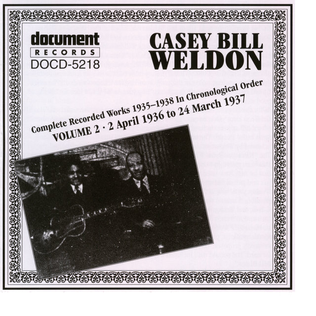 Casey Bill Weldon Vol. 2 1936-1937