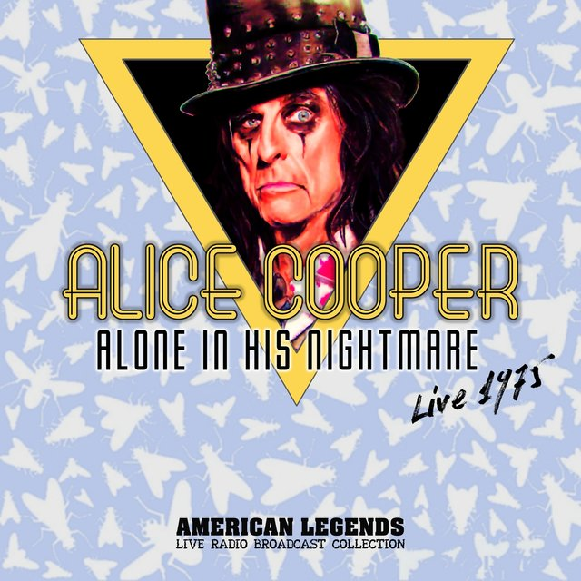 ALICE COOPER - ALONE IN HIS NIGHTMARE