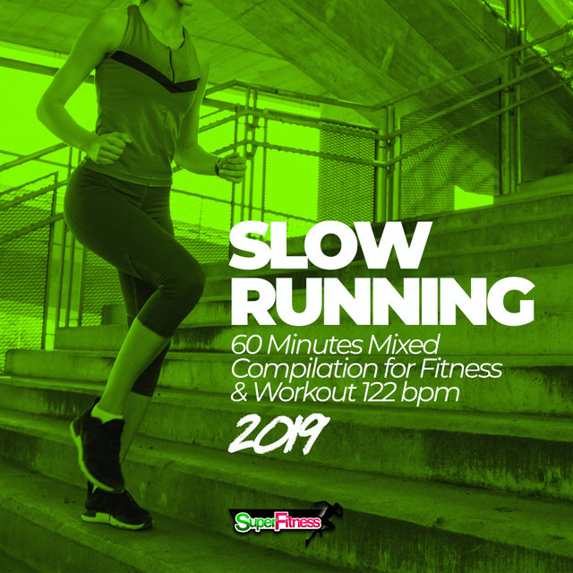 Slow Running 2019: 60 Minutes Mixed Compilation for Fitness & Workout 122 bpm