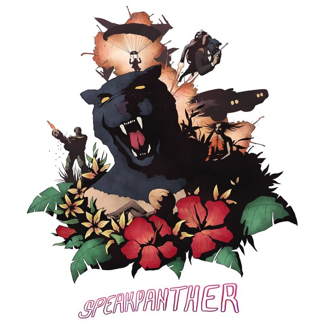 Cover art for album Speakpanther by SPEAK, Dream Panther