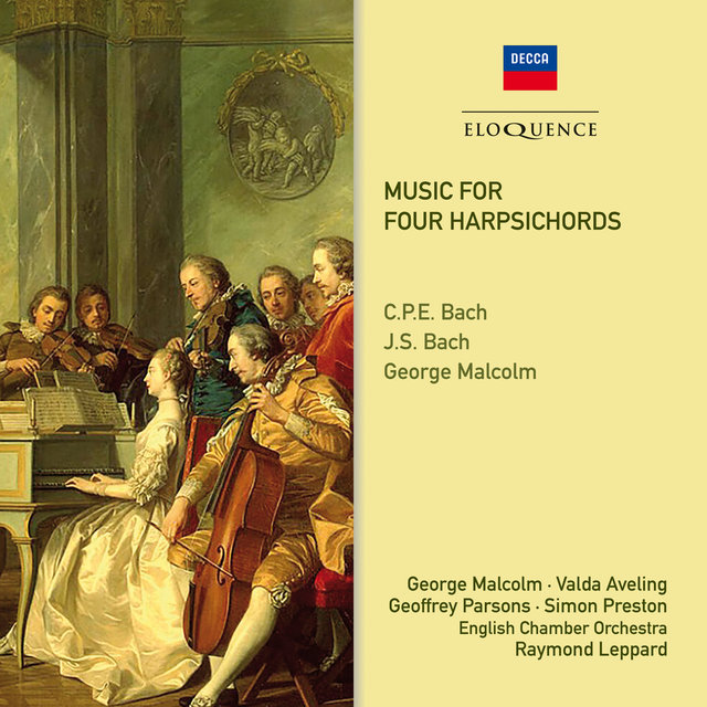 Music For Four Harpsichords