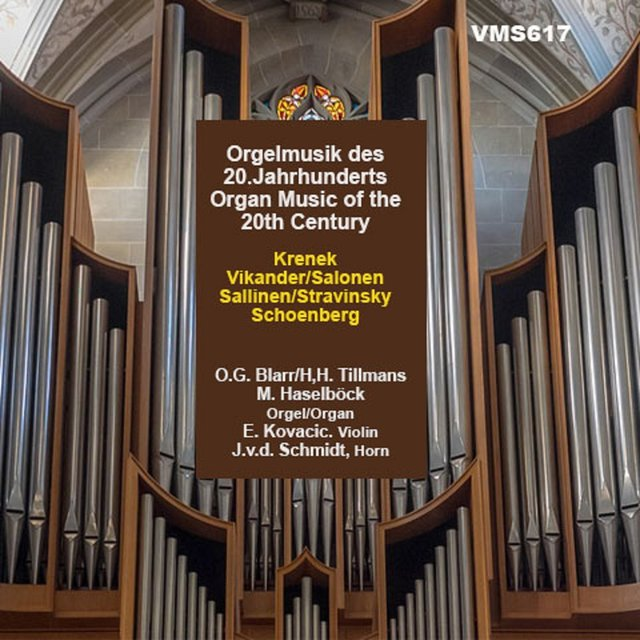 Organ Music of the 20th Century
