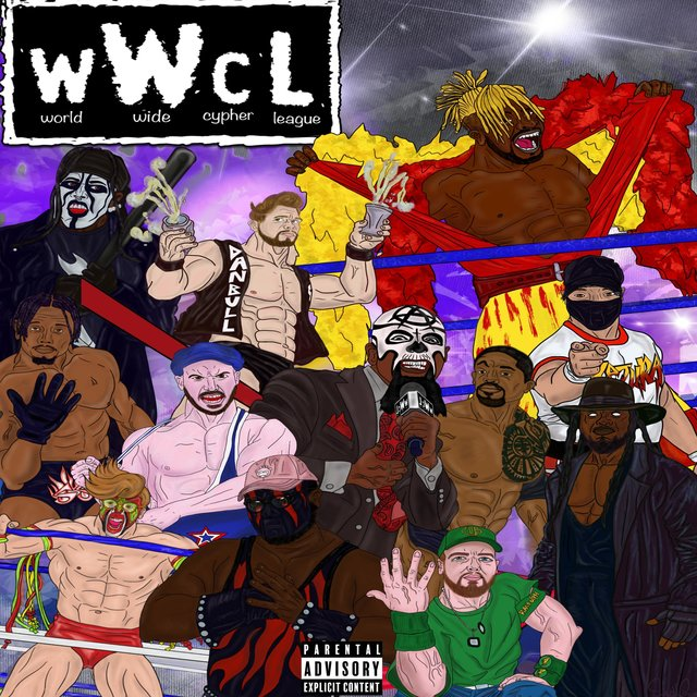 World Wide Cypher (feat. Dedboii Kez, Randolph, Token Black, Dan Bull, Shofu, Trapp Tarell, VI Seconds, Epiclloyd, Rustage & Samad Savage)