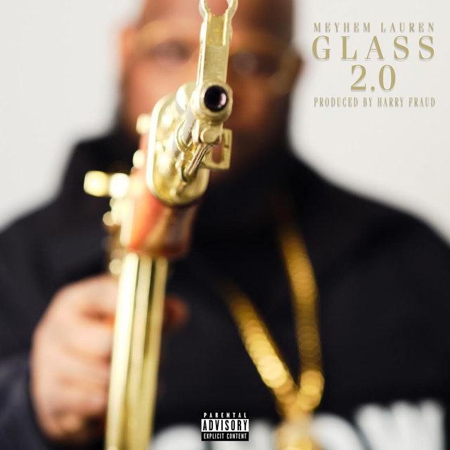 Cover art for album Glass 2.0 by Meyhem Lauren, Harry Fraud