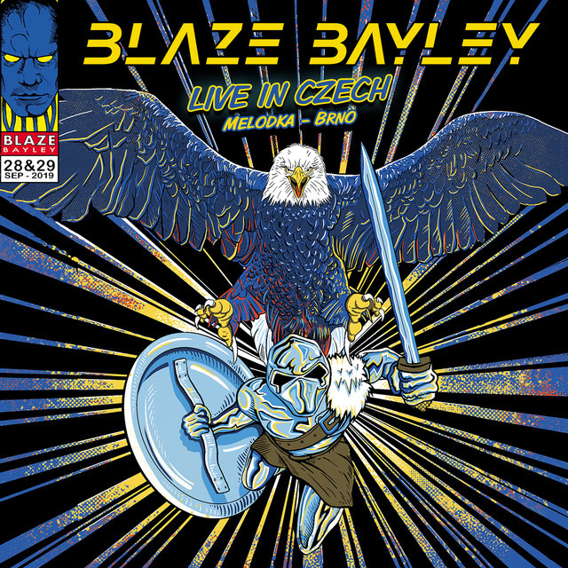 Cover art for album Live in Czech by Blaze Bayley