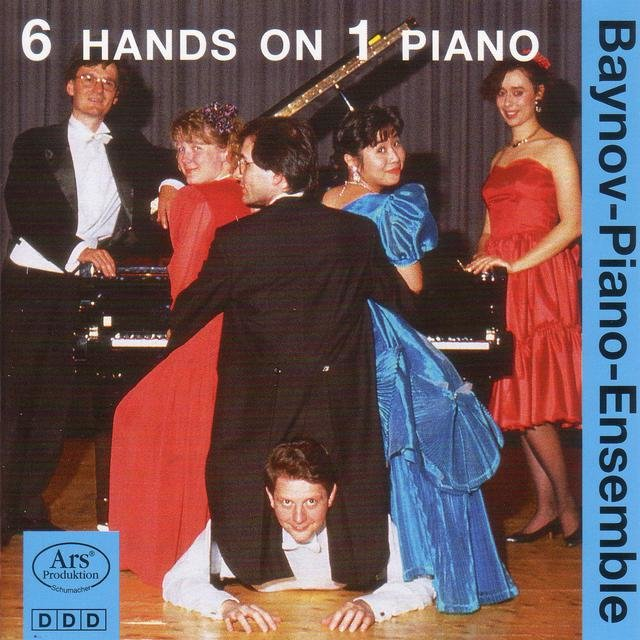 Piano Ensembles - Boutry, R. / Hirtler, F. / Vladigerov, P. / Wanek, F. / Bach, W.F.E.  (Baynov Piano Ensemble) (6 Hands On 1 Piano, Vol. 1)