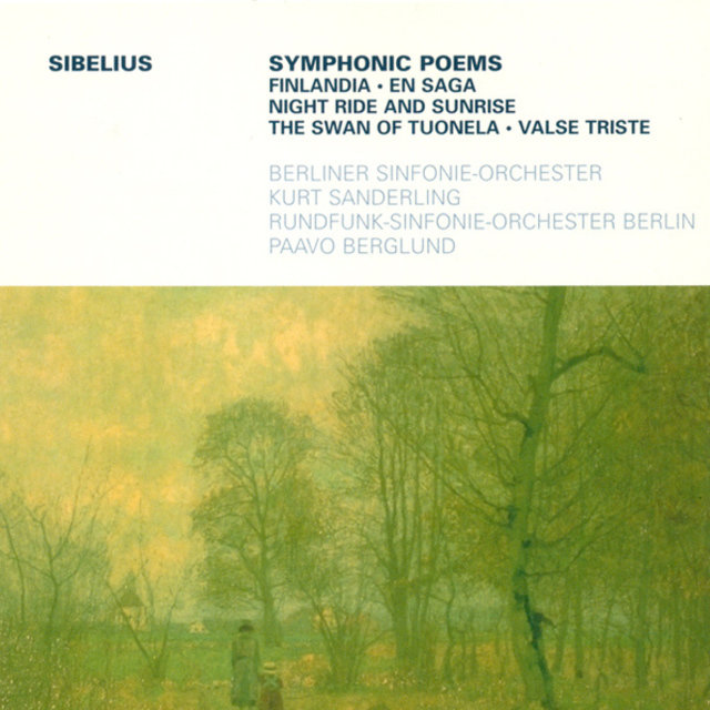 SIBELIUS, J.: Finlandia / Valse triste / Night Ride and Sunrise / Lemminkainen Suite / En saga (K. Sanderling, Berglund)