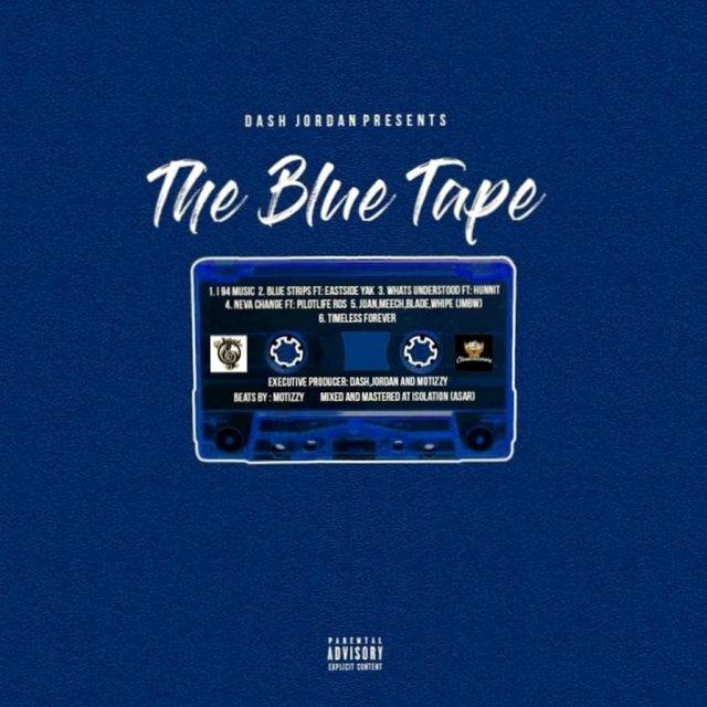 Cover art for album The Blue Tape by Dash Jordan