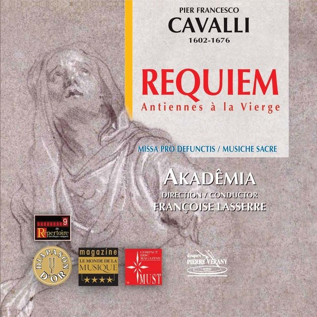 Cover art for album Cavalli: Requiem & Antiennes à la Vierge by Ensemble vocal régional de Champagne-Ardenne, Akademia, Françoise Lasserre