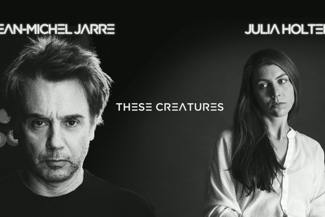 Jean-Michel Jarre with Julia Holter Track Story
