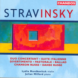 Chanson russe (Arr. S. Dushkin for violin and piano)