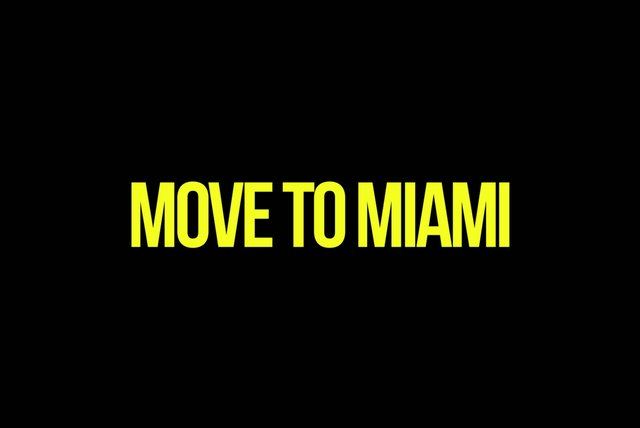 MOVE TO MIAMI (Lyric Video)