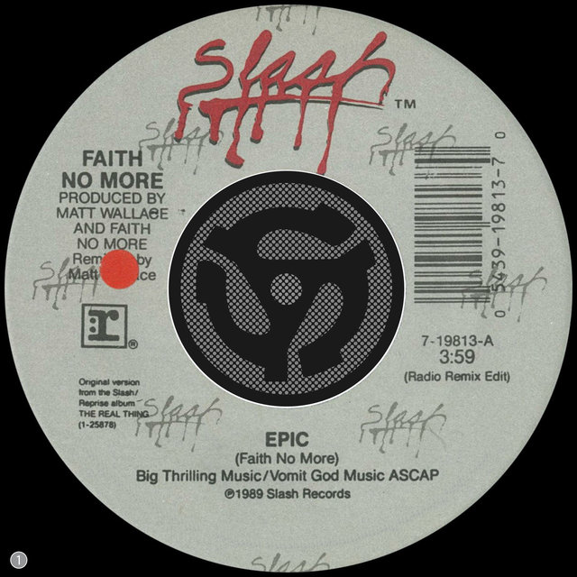 Epic (Radio Remix Edit) / Edge of the World (45 Version)