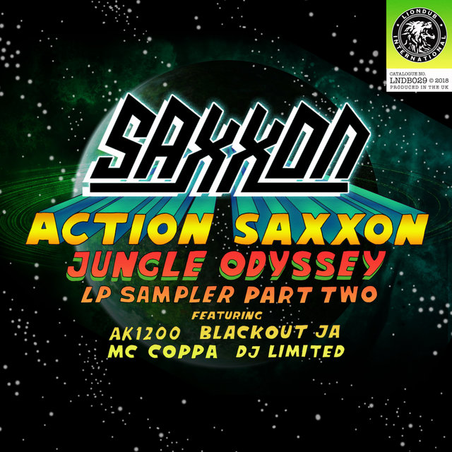 Action Saxxon - Jungle Odyssey (LP Sampler, Pt. 2)