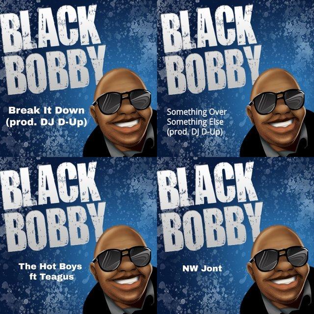 Cover art for album Black Bobby by User