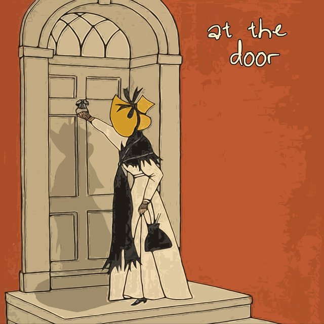 At the Door