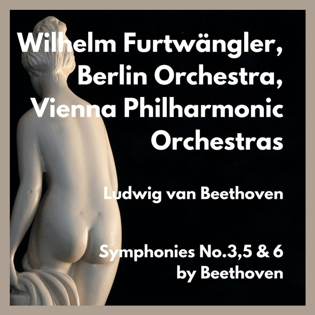 Symphonies No.3,5 & 6 by Beethoven