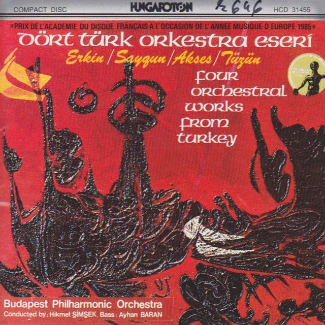 Four Orchestral Works from Turkey