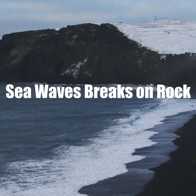 Sea Waves Breaks on Rock
