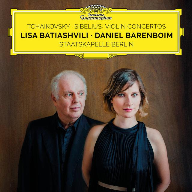 Cover art for album  by Lisa Batiashvili, Staatskapelle Berlin, Daniel Barenboim