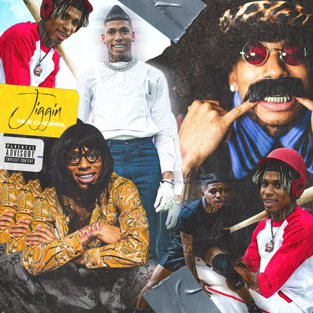 Cover art for album Jiggin by NLE Choppa
