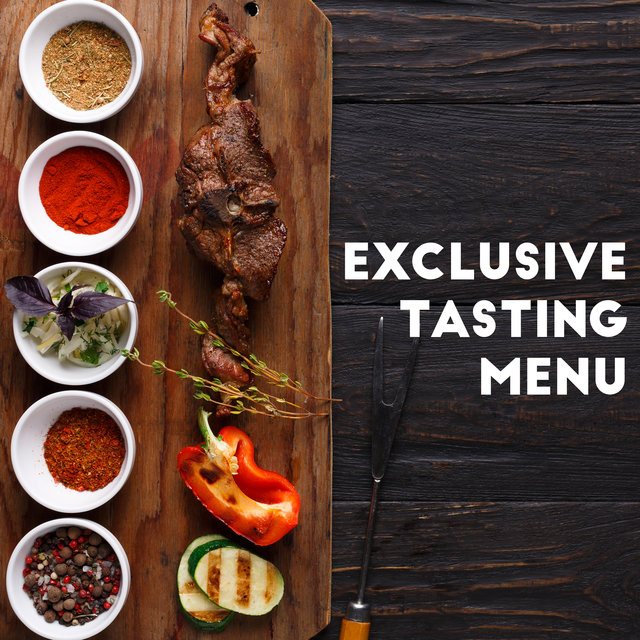 Exclusive Tasting Menu – Jazz Music Ideal for Elegant Restaurants, Harmony of Flavors, Connoisseurs of Good Food, Sophisticated Dishes