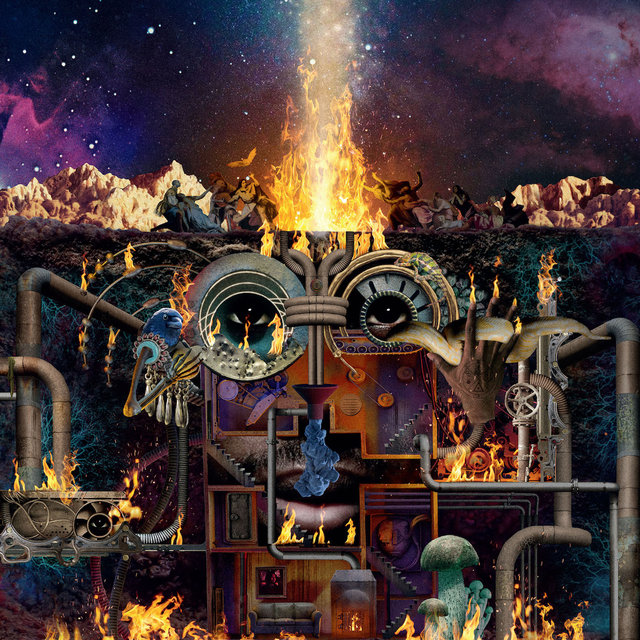 Cover art for album Flamagra by Flying Lotus